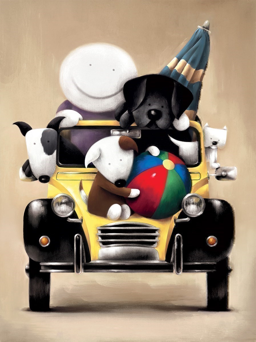 Love Overload by Doug Hyde - Limited Edition on Paper sized 20x26 inches. Available from Whitewall Galleries